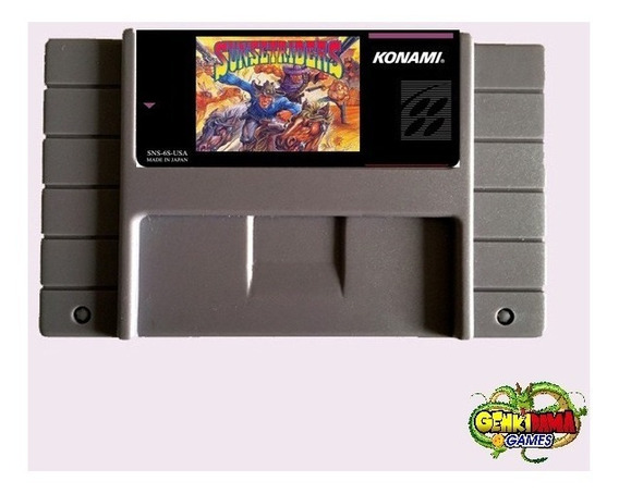 Sunset Riders Super Nintendo Snes + Garantia