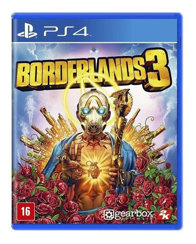 Borderlands 3 - Ps4 - Novo - Lacrado - Mídia Física