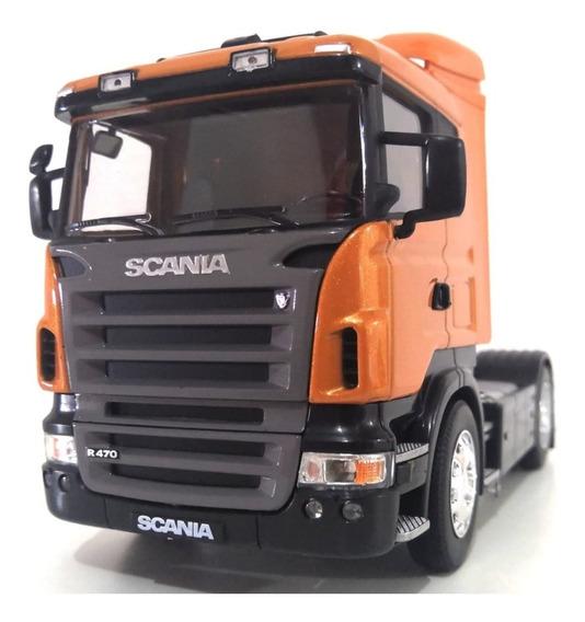 Caminhão Miniatura Scania R470 Escala 1:32