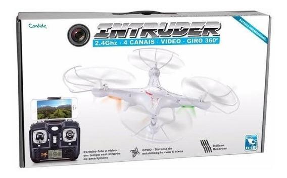 Intruder Drone Com Câmera Real Time Candide