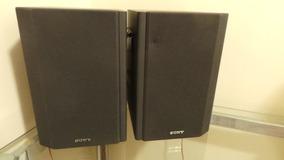 Par De Caixas De Som Sony Ss Cne3 Perfeito Estado Raridade!!