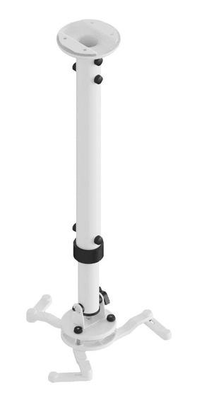 Suporte Projetor Teto Parede Telescópico Ajustável 18 A 91cm