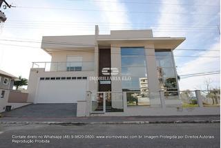 Magnífica Casa De Esquina, No Bairro Planejado Pedra Branca, Em Palhoça - 4142