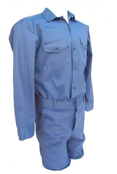 Camisa O Pantalón Ropa De Trabajo Azulino O Beige Tipo Grafa