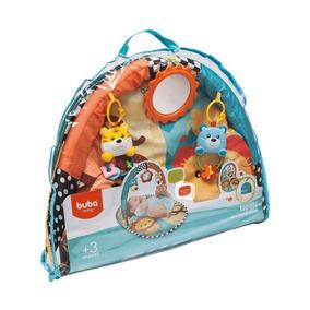 Tapete De Atividades Safari Brinquedos Para Bebês Buba 08564