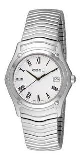 Ebel Mens 9255f41 0125 Classic Blanco Reloj De Esfera Roman