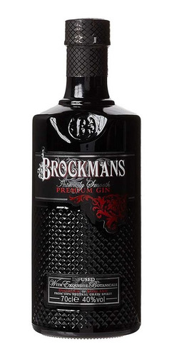 Imagen 1 de 7 de Gin Brockmans Intensely Smooth Ginebra Premium Inglaterra