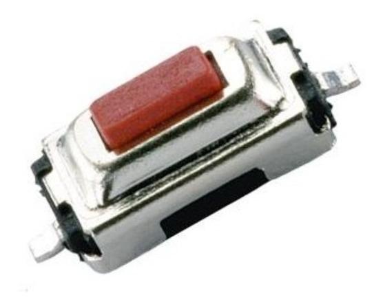 Chave Toque Micro Botão Smd 2 Pinos 3x6x2,5mm (100 Peças)