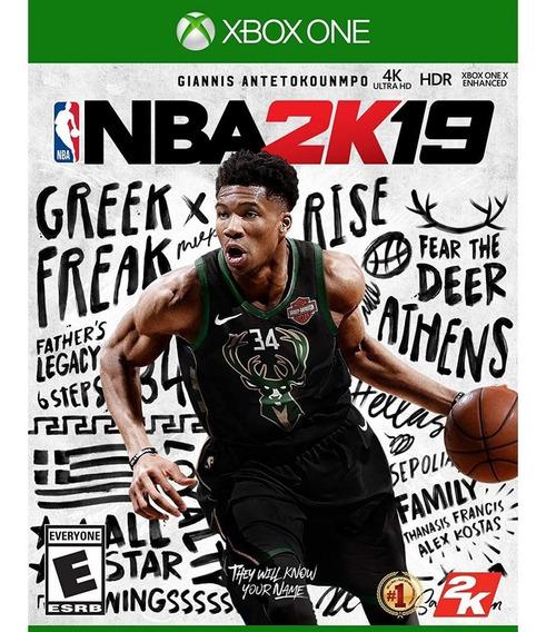 Nba 2k19 Xbox One Mídia Física