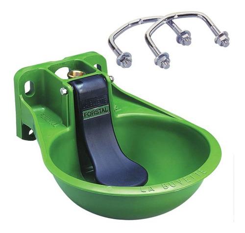 Imagen 1 de 1 de Bebedero De Agua,paleta Forstal Con 2 Abrazaderas/verde