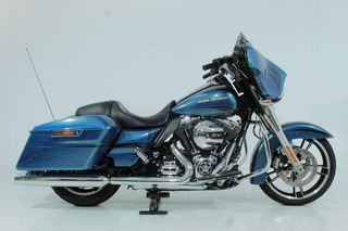 Harley Davidson Street Glide 2014 Azul