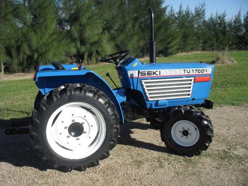 Tractor  Iseki Tu1700 4x4 Con Chirquera Nueva Incluida.