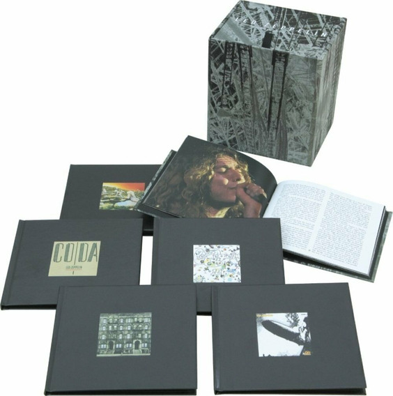 Box Led Zeppelin - The Complete Studio Recordings (lacrado)