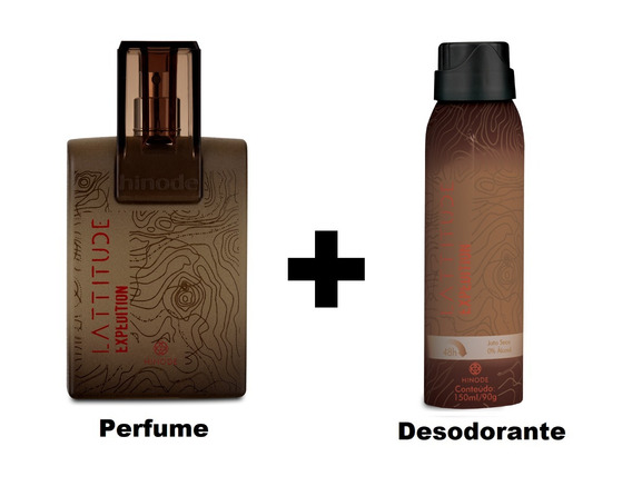 Perfume Masculino Lattitude Expedition Hinode 100ml Original