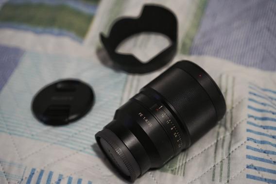 Lentes Sony Sel Fe 35mm F/1.4 Zeiss / Sel35f14z / Fe35 1.4