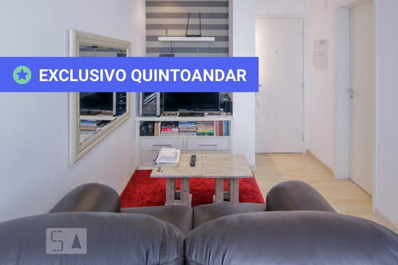Apartamento No 3º Andar Com 1 Dormitório E 1 Garagem - Id: 892957865 - 257865