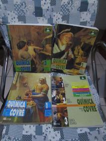 Química O Homem E A Natureza - Covre - Coleção 4 Volumes