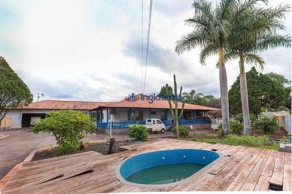 Chácara Com 2 Dormitórios À Venda, 3055 M² Por R$ 2.800.000,00 - Jardim Morumbi - Londrina/pr - Ch0001