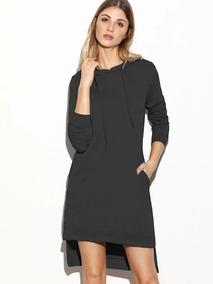 6cd80ac6d2 Vestido Negro Con Aberturas Laterales - Ropa, Bolsas y Calzado en ...