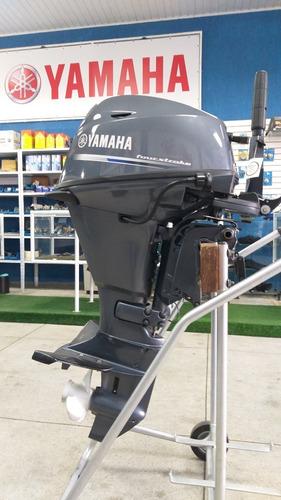 Imagem 1 de 2 de Motor De Popa Yamaha 20hp 4 T Eletrico  Top De Linha