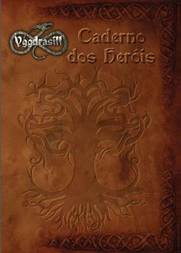 Imagem 1 de 1 de Caderno Dos Heróis - Yggdrasill