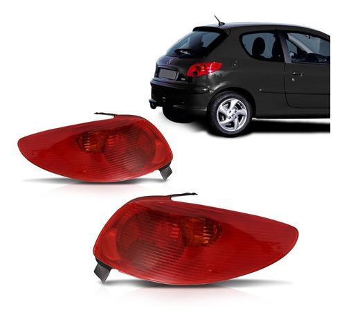 Imagem 1 de 4 de Lanterna Peugeot 206 2004 2005 2006 2007 2008