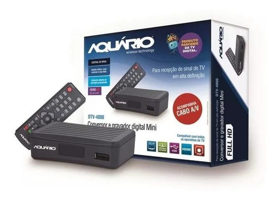 Conversor Digital Full Hd Dtv 4000 + Antena Digital Dtv 100