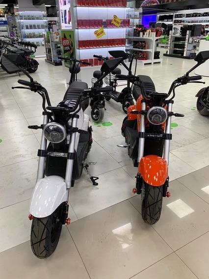 Moto Eletrica Scooter Sport 1500 Watts 70km/h Bateria 55km