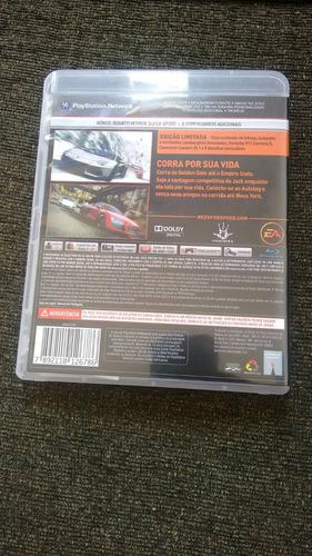 Need For Speed The  Run Edição Limitada Original Usado