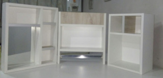 Kit Organizador Para Baño X3 Piezas