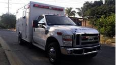 Ambulancia 4x4 2008, Ford F-350 Superduty Tipo 1, Como Nueva