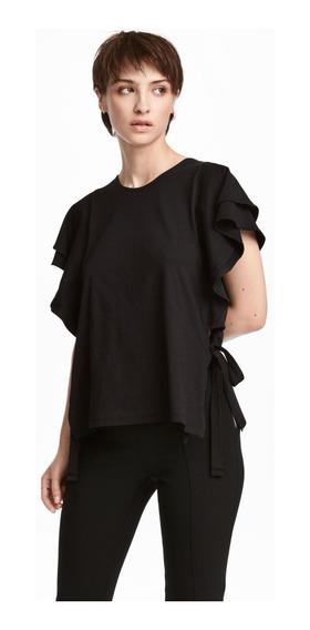 Remera Mujer H&m Cuello Redondo Mercado Importado