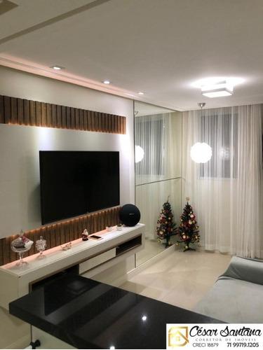 Imagem 1 de 14 de Apartamento 2/4, Centro - Lauro De Freitas