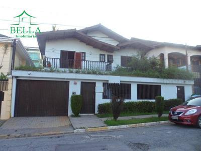 Sobrado Com 4 Dormitórios Para Alugar, 250 M² Por R$ 6.000/mês - City América - São Paulo/sp - So1407