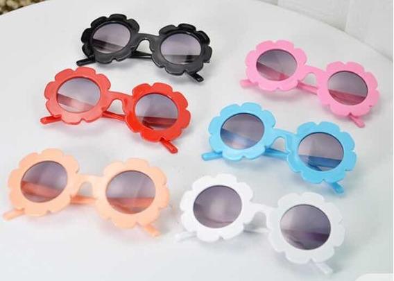 Óculos Infantil Flor Blogueirinha !