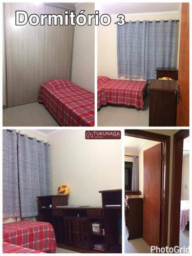 Apartamento Com 3 Dormitórios À Venda, 90 M² Por R$ 425.000,00 - Vila Guilhermina - Praia Grande/sp - Ap4892