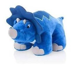 Dinossauro De Pelucia Thunder Stompers Com Som - Azul