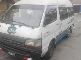 Vendo Combi Toyota Hiace Gl 3l Blanco Del 92