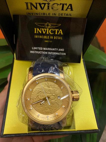 Relógio Invicta Yakuza S1 Rally 18215 Banhado Original