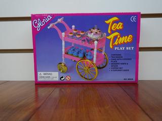 Gloria Set De Juego Tiempo Té Para Muñecas