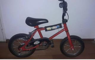 Bicicleta Niño/a Recreo Rodado 12 Color Roja Unisex