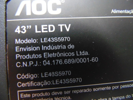 Placa T-com Le43s5970