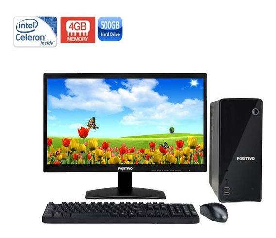 Computador Positivo Stilo Ds3558 Celeron 4gb Hd500gb + Wi-fi
