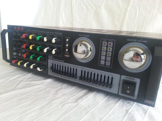 Amplificador Profesional Marca Lsv, Modelo 3920, Cod (70v)