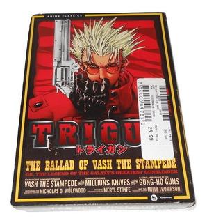 Trigun The Ballad Of Vash The Stampede Anime 4 Dvd 26 Episod