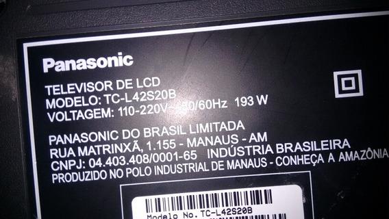 Tela Panasonic Tcl 42s20b
