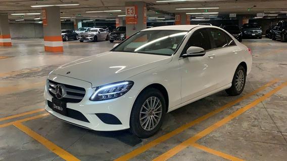 Mercedes-benz C 200 Exclusive At 2020 Blanco