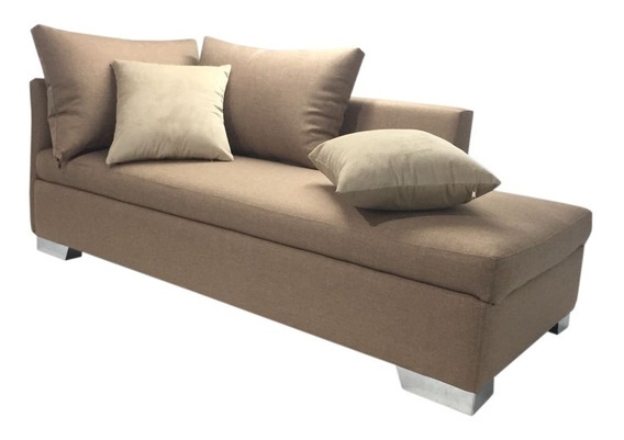 Divã Long Chaise Varias Cores Sob Medida Ralph Couch