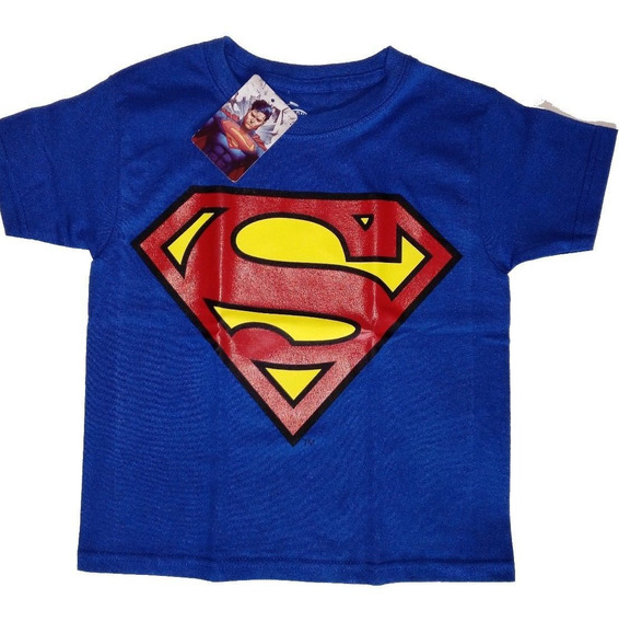 Playera Superman Niño Dc Comics Original Envío Gratis