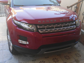 Range Rover Evoque 2012 Color Rojo